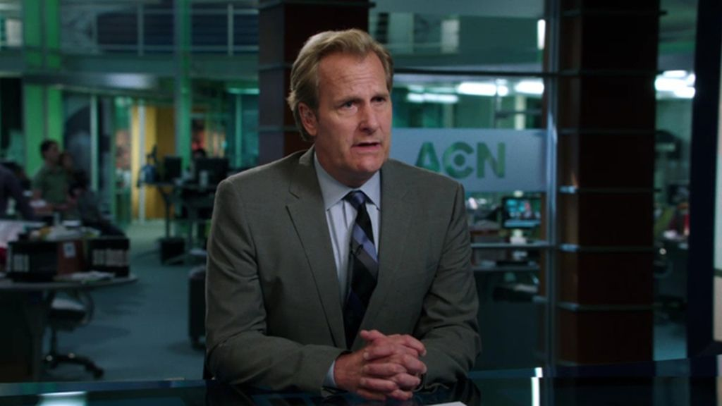 'The Newsroom' (Canal+), mejor drama y mejor actor de drama (Jeff Daniels)