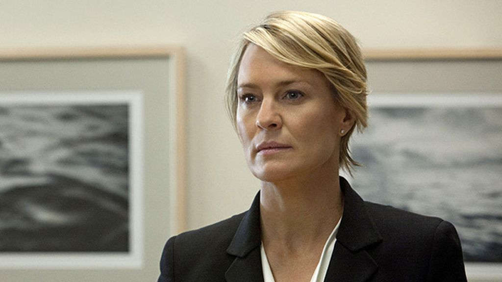 Robin Wright, mejor actriz de drama por 'House of cards'