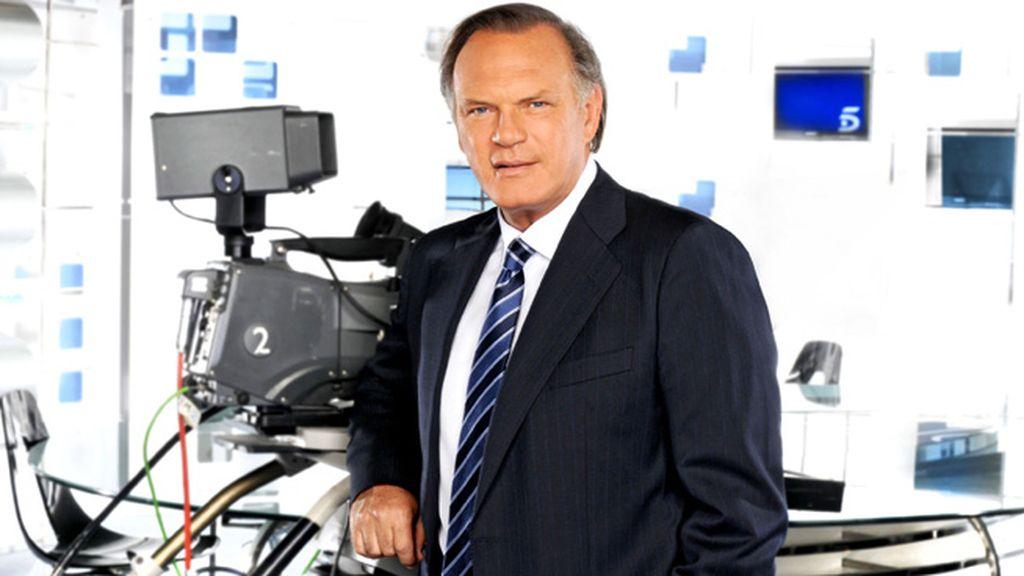 Pedro Piqueras ('Informativos Telecinco'), mejor presentador de televisión nacional