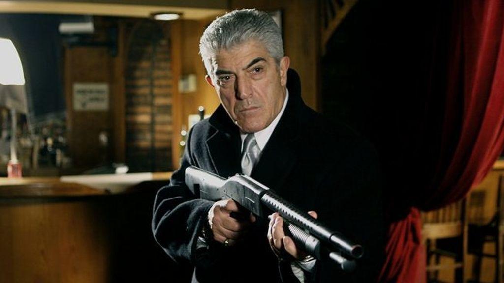 El actor Frank Vicent en 'Los Soprano'