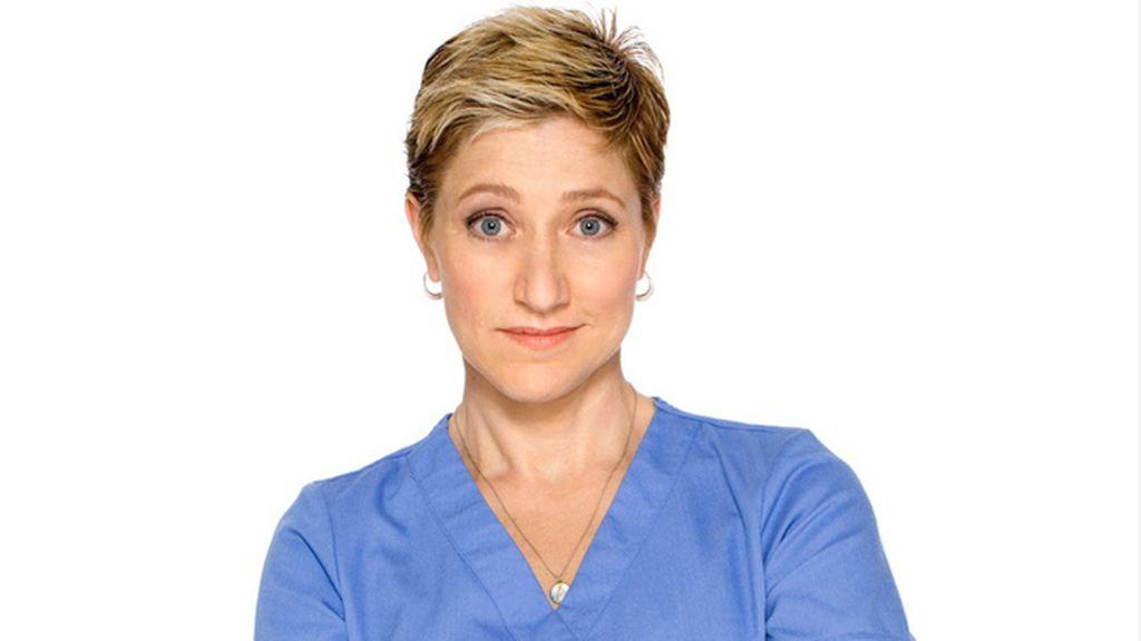 Edie Falco, mejor actriz de comedia por 'Nurse'