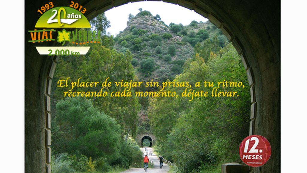 Razones para disfrutar de Vías Verdes. Más de 102 rutas por el territorio español.