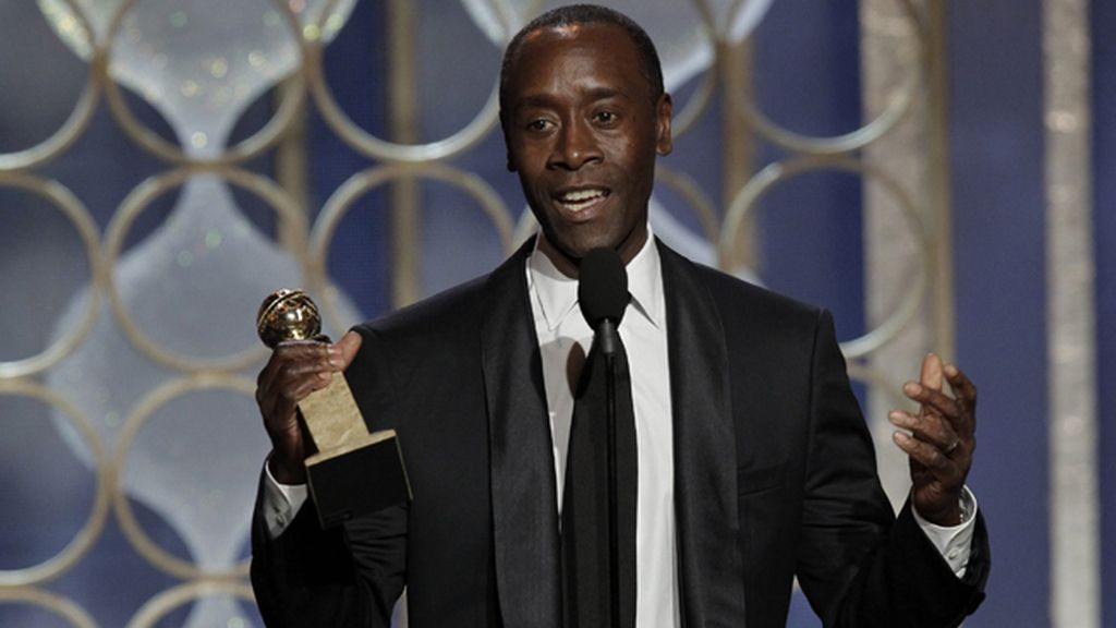 Don Cheadle, por 'House of Lies', mejor actor de musical o comedia