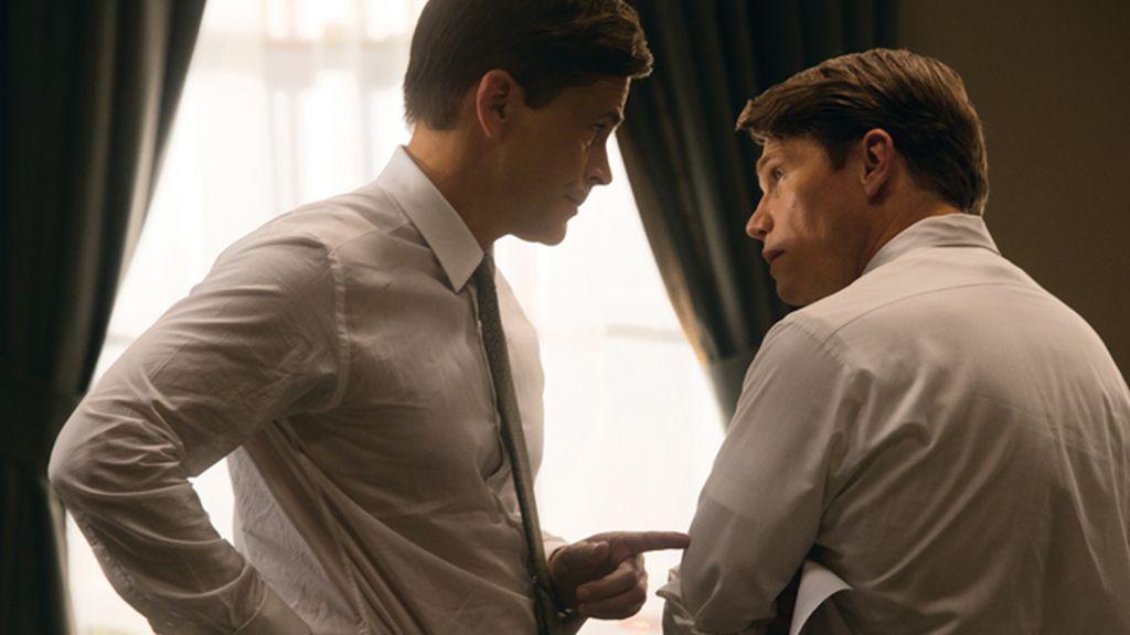 Dos hombres, frente a frente, en la película producida por Ridley Scott