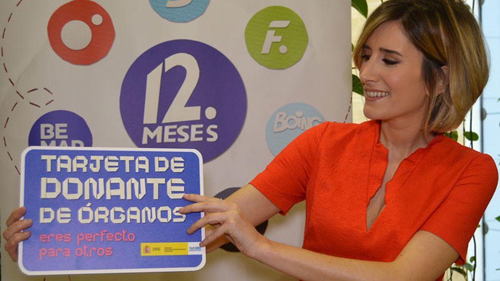 Los rostros de Mediaset se vuelcan con la campaña