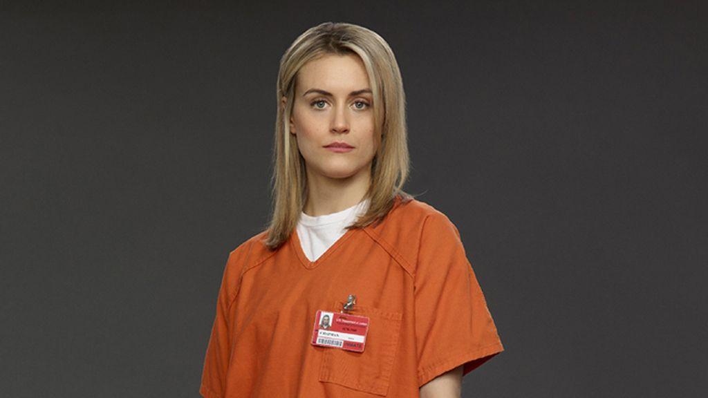 Taylor Schilling, mejor actriz en serie dramática por 'Orange is the new black'