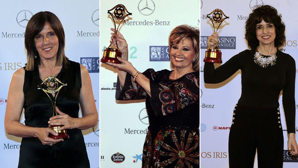 'La voz' (Telecinco), premio especial. 'Isabel', de La 1, mejor serie, y 'El intermedio', de La Sexta, mejor entretenimiento