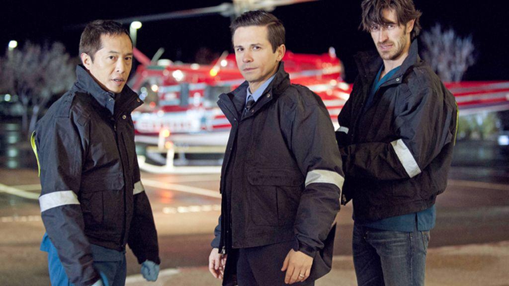 Eoin Macken y Jill Flint encabezan el reparto de la serie médica