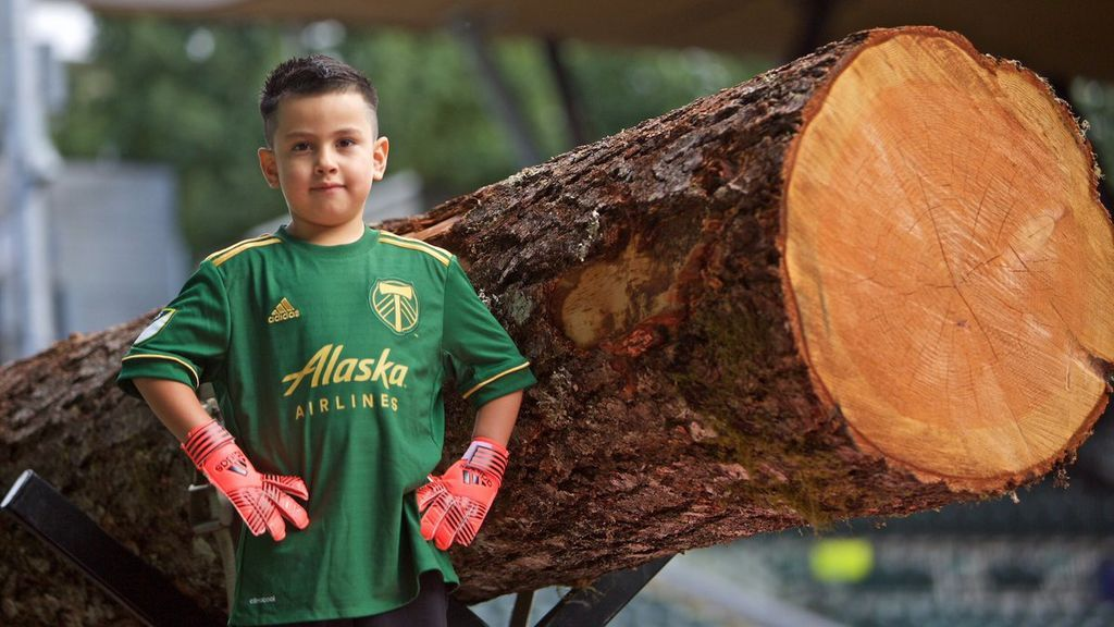 Un equipo de la MLS ficha a un niño de 5 años con un tumor cerebral para que cumpla su sueño de ser portero
