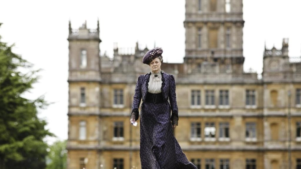 Maggie Smith es Violet Crawley en 'Downton abbey'