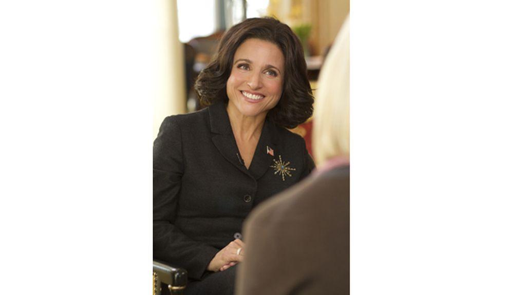 La premiada Julia Louis-Dreyfus es ahora vicepresidenta de EEUU
