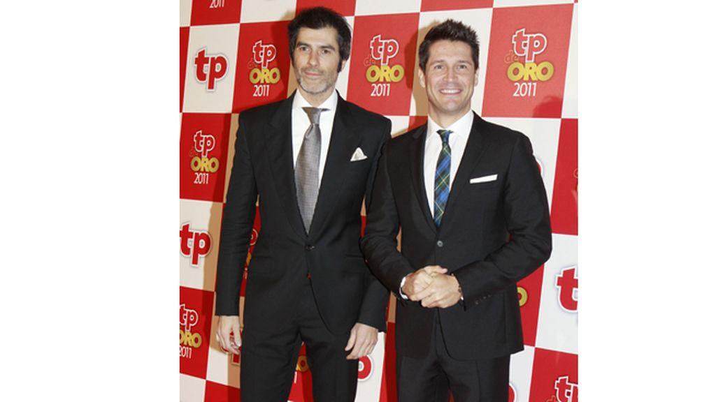 Jorge Fernández y Jaime Cantizano fueron los encargados de presentar la gala