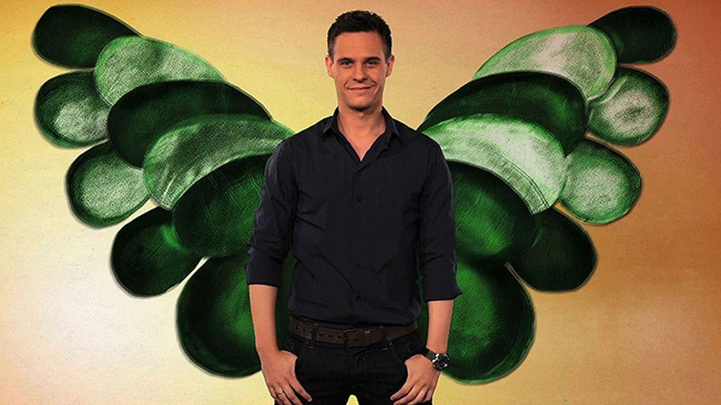 Christian Gálvez ya tiene sus alas verdes