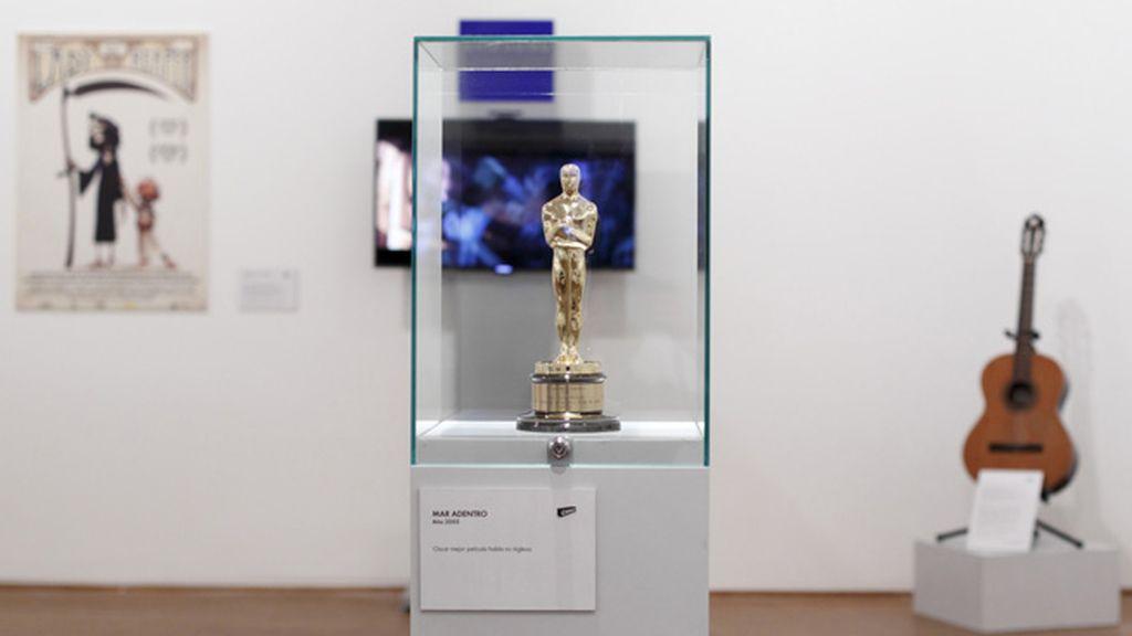 Estatuilla de Alejandro Amenábar por 'Mar adentro'