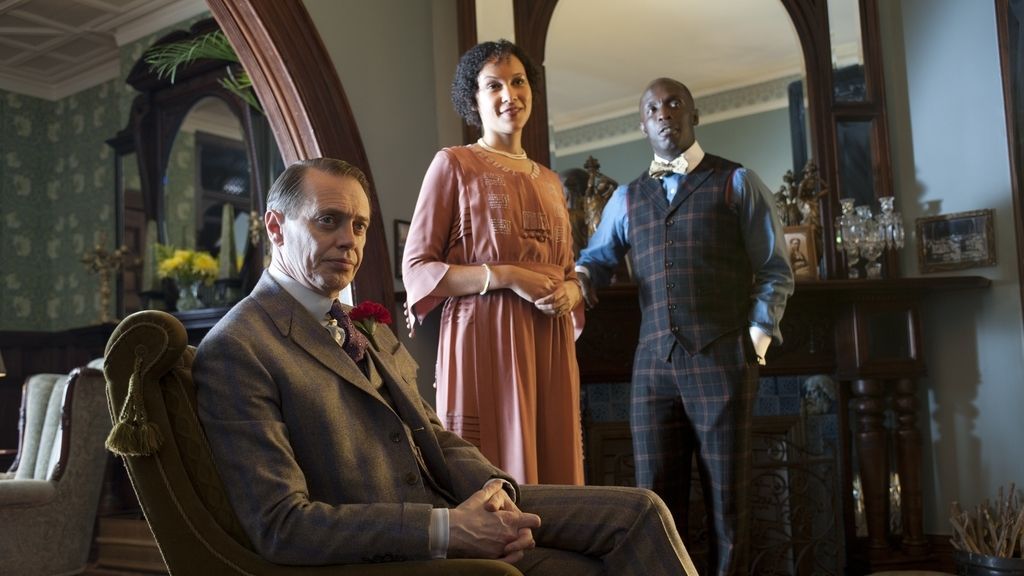 'Boardwalk Empire' (Canal + 1), mejor drama, mejor actor (Steve Buscemi) y mejor secundaria (Kelly MacDonald)