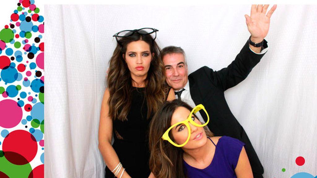 Sara Carbonero, Isabel Jiménez y David Cantero celebran su #navidadMEDIASET