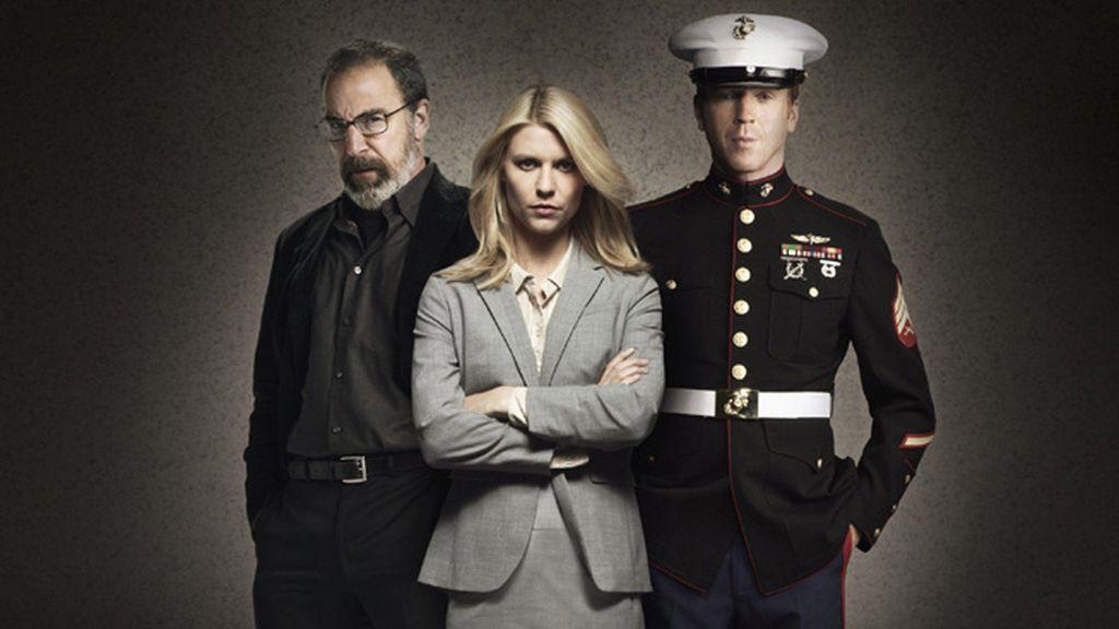 'Homeland' (Cuatro, Fox), mejor drama, mejor actor de drama (Damian Lewis), mejor actriz de drama (Claire Danes) y mejor actor secundario (Mandy Patinkin)