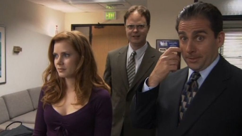 Amy Adams (candidata a mejor actriz secundaria por 'The Master'), en 'The Office'