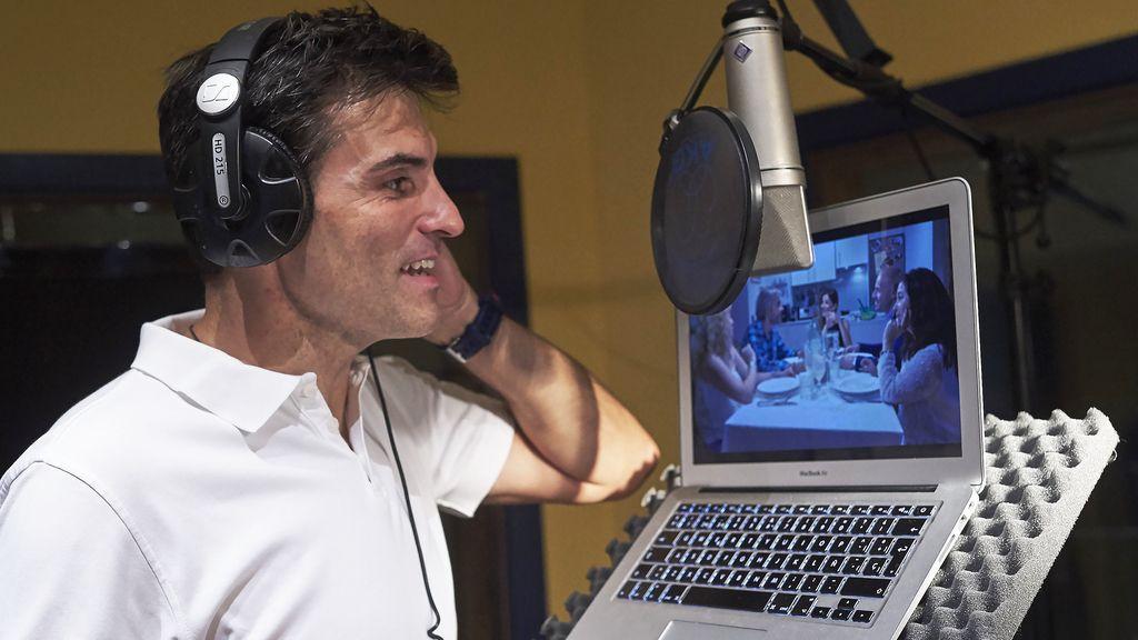 Luis Larrodera, 'voz en off' del concurso de Cuatro 'Ven a cenar conmigo'