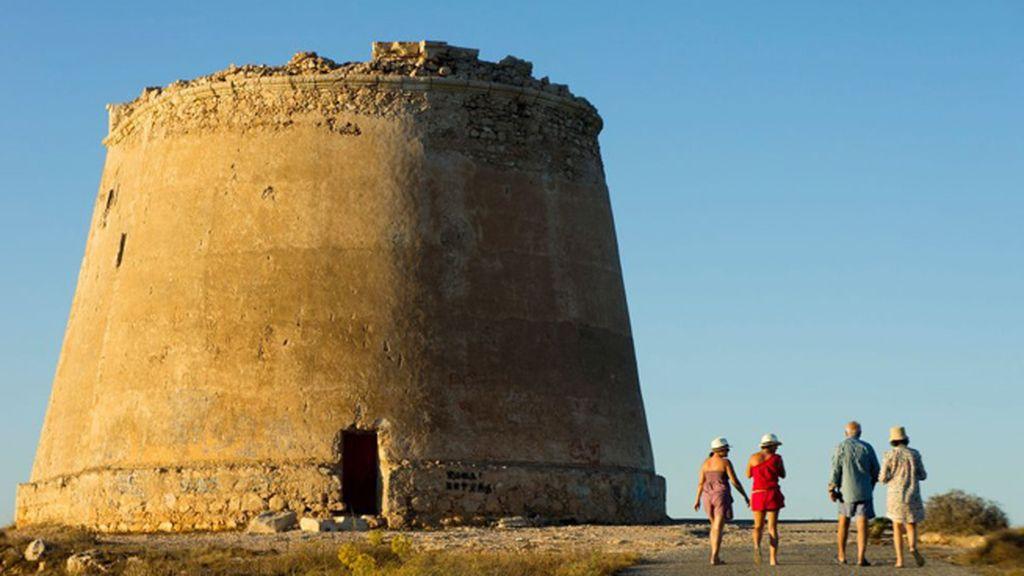 Torre de Mesa Roldán, en el Cabo de Gata, en Almería (sexta temporada), como Meereen