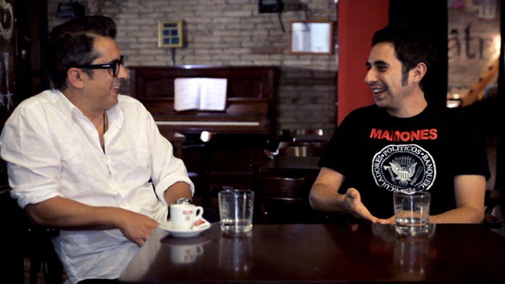 Andreu Buenafuente con Berto Romero
