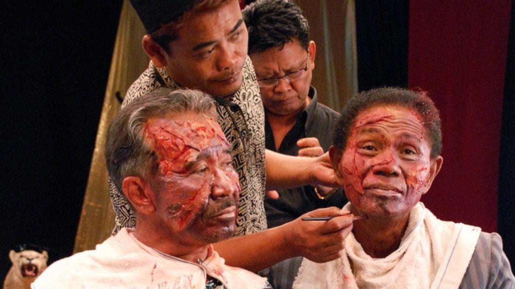 Una banda de asesinos de Indonesia recrea sus 'hazañas' a ritmo de un musical