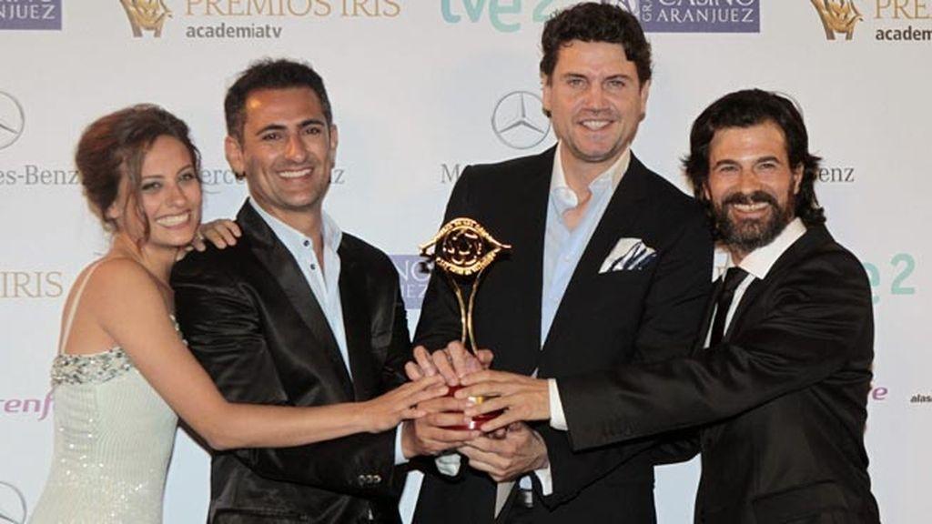 Marcelo Pacheco y Pepe Reyes, mejor dirección de arte y escenografía por 'Isabel' (La 1)