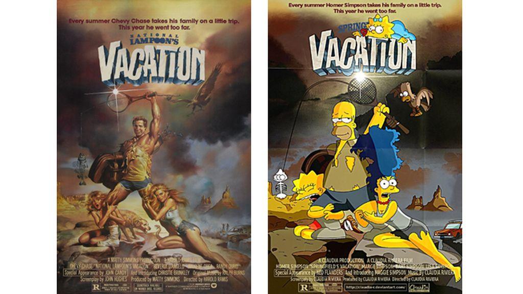 'Las vacaciones europeas de una chiflada familia americana'