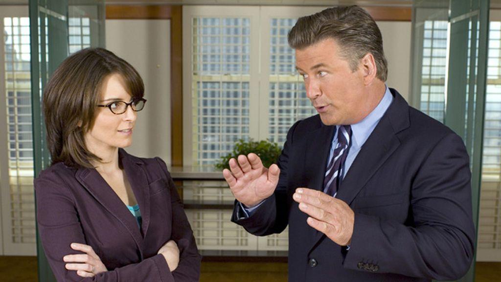 '30 Rock' (La Sexta), mejor actor de comedia (Alec Baldwin) y mejor actriz de comedia (Tina Fey)