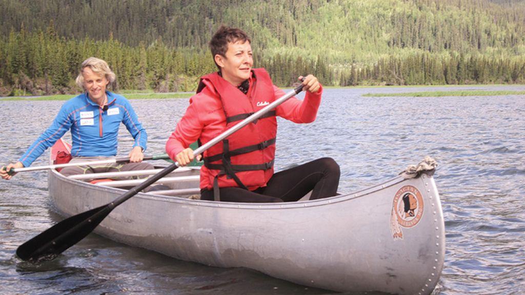 Eva Hache, en Alaska