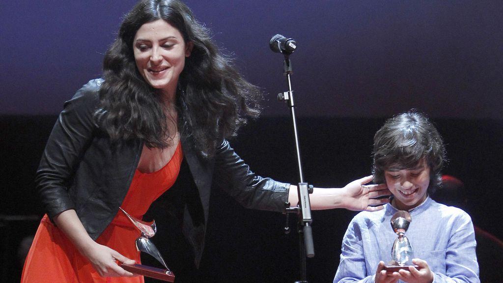 Bárbara Lennie ('La función por hacer') y Manuel Camacho ('Entre Lobos'), premios Revelación
