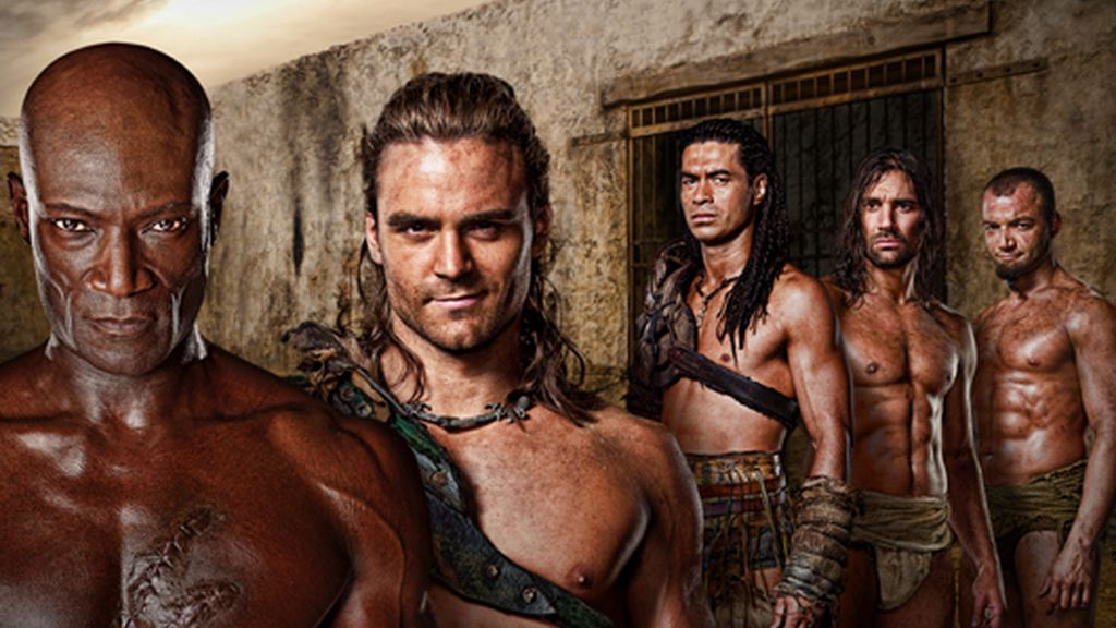 'Spartacus: Gods of the Arena' (Canal +)