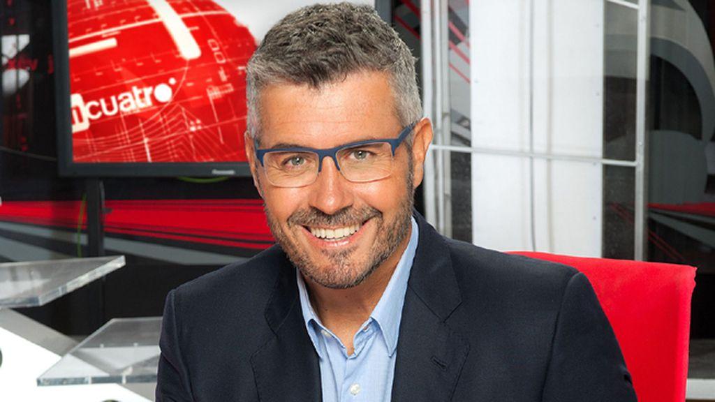Miguel Ángel Oliver, en 'Noticias Cuatro 20.00'