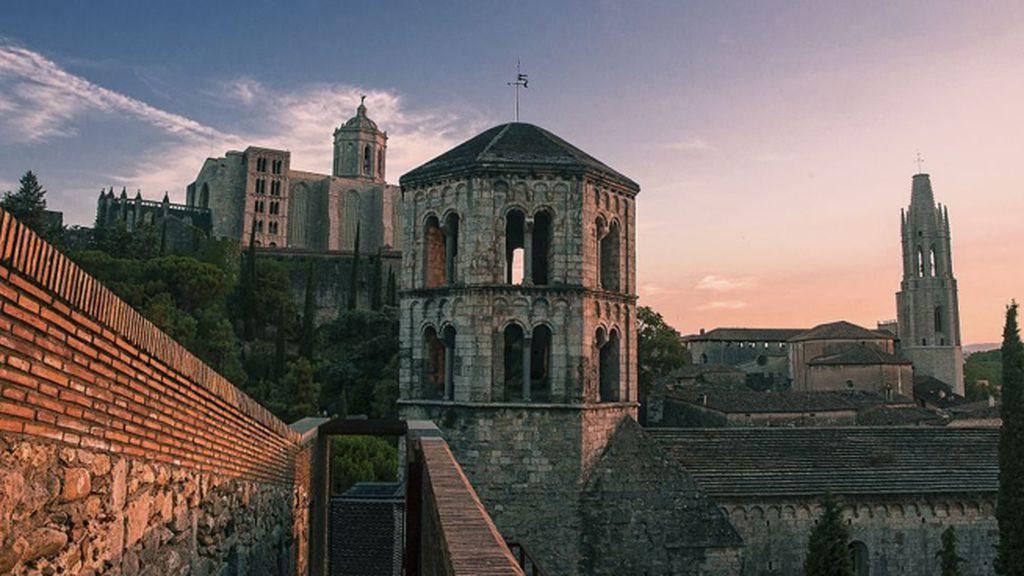 Sant Pere de Galligants, en Girona (sexta temporada), como la ciudad de Oldtown