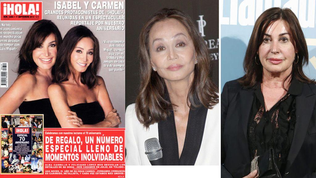 Isabel Preysler y Carmen Martínez-Bordiú