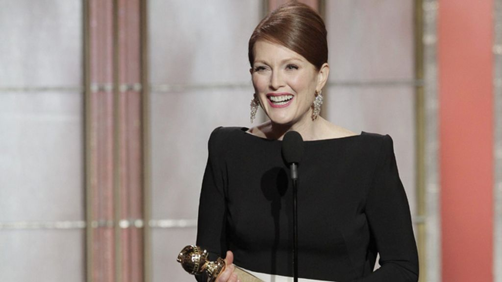 Julianne Moore, por 'Game Change' (Canal+ 1), mejor actriz en miniserie o 'tvmovie'