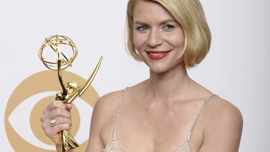 Claire Danes, mejor actriz de drama por `'Homeland'