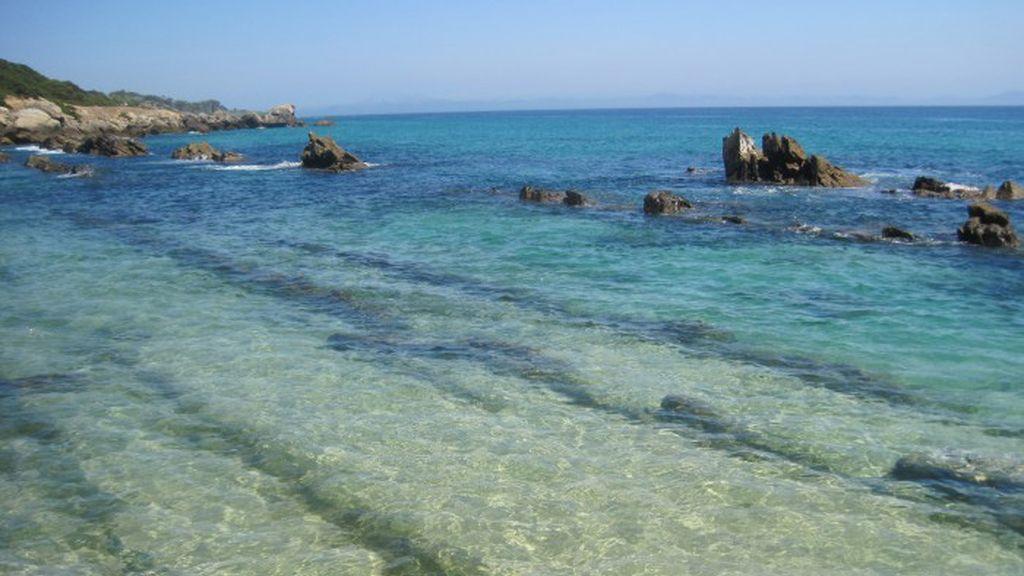 María Collantes: Playa de Bolonia, en Tarifa (Cádiz).