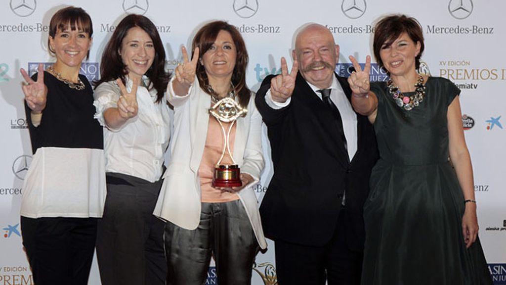 'La voz' (Telecinco), premio Iris especial