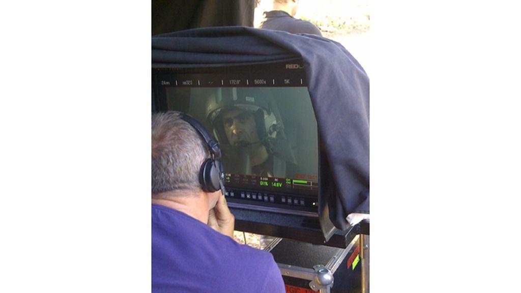 El equipo rueda en Almería algunas de las escenas de acción más espectaculares de la película