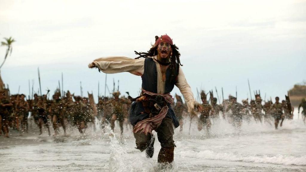 'Piratas del Caribe: El cofre del hombre muerto' (La 1). El 25 de diciembre, a las 22.15