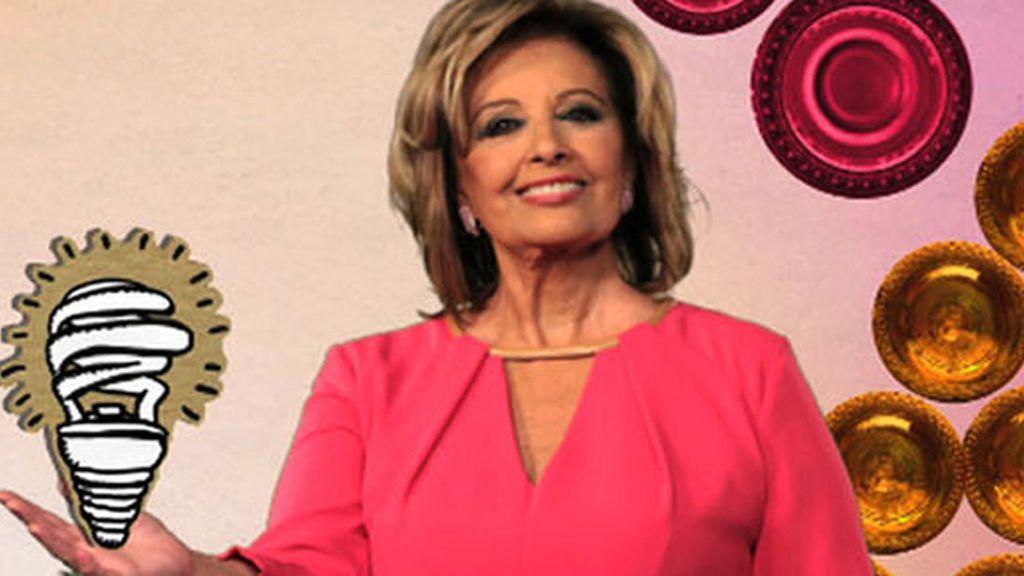 Mª Teresa Campos ya tiene sus alas verdes