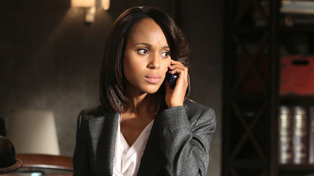 Kerry Washington, mejor actriz de drama por 'Scandal'