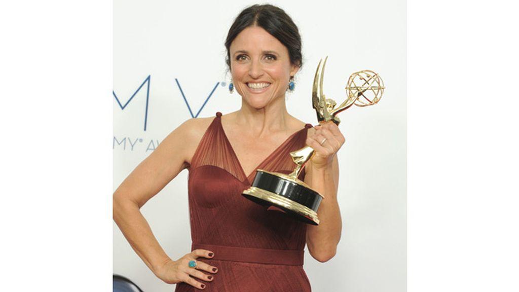 Julia Louis-Dreyfus, mejor actriz de comedia por 'Veep' (HBO)