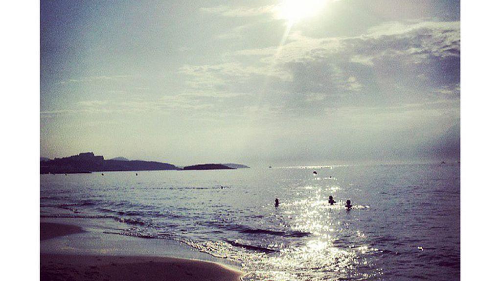 Cristina Navarro Caballero: playa Den Bossa, en Ibiza (Baleares).