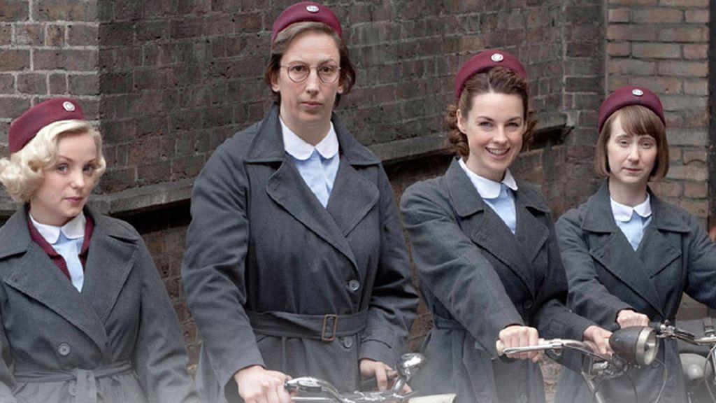Jessica Raine y la oscarizada Vanessa Redgrave interpretan a la enfermera Jenny Lee