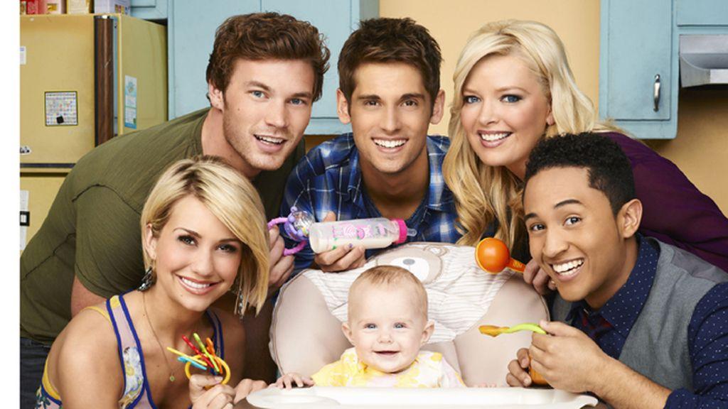 Cuidar de una bebé de pocos meses, principal responsabilidad de un padre primerizo en 'Papá canguro'