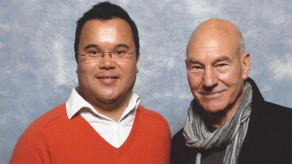 Actores de la saga, como Patrick Stewart (capitán Jean-Luc Picard), se reúnen con sus fans