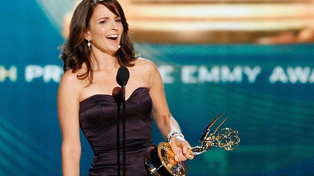 Tina Fey ('30 Rock', NBC), mejor actriz de comedia