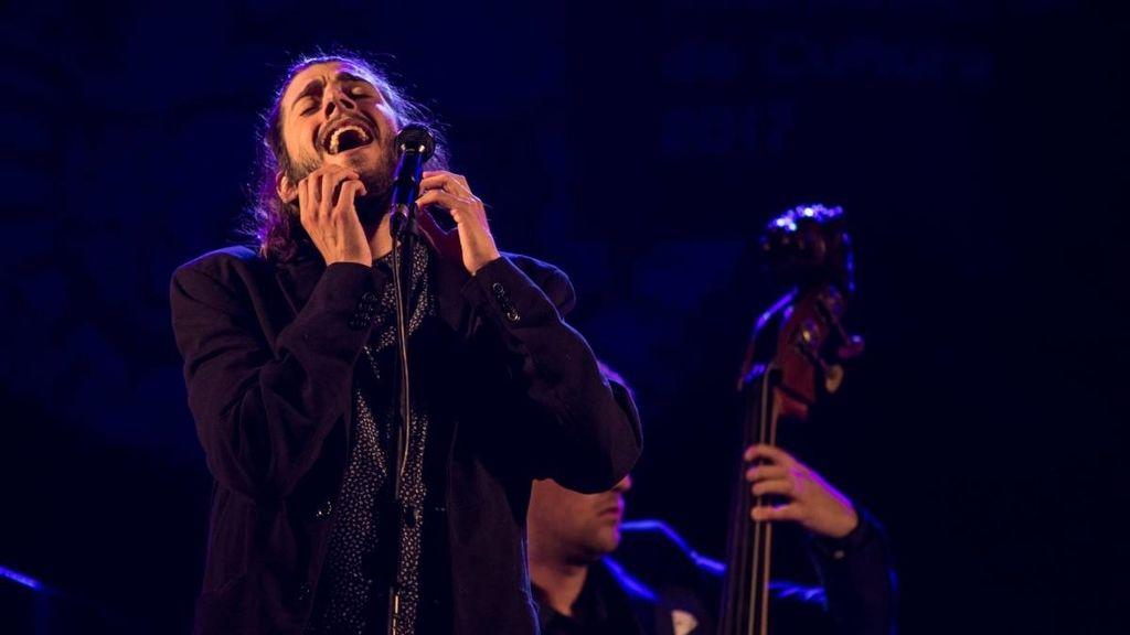 Salvador Sobral en su concierto de despedida en Estoril